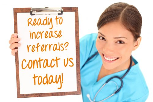 Physician liaison marketing services